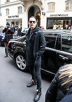 April 27th, 2013 - Paris..Jared Leto arriving at his hotel in Paris...****** BYLINE MUST READ : © Spread Pictures ******..****** No Web Usage before agreement ******..****** Stricly No Mobile Phone Application or Apps Use Without our Prior Agreement ******..Enquiries at photo@spreadpictures.com