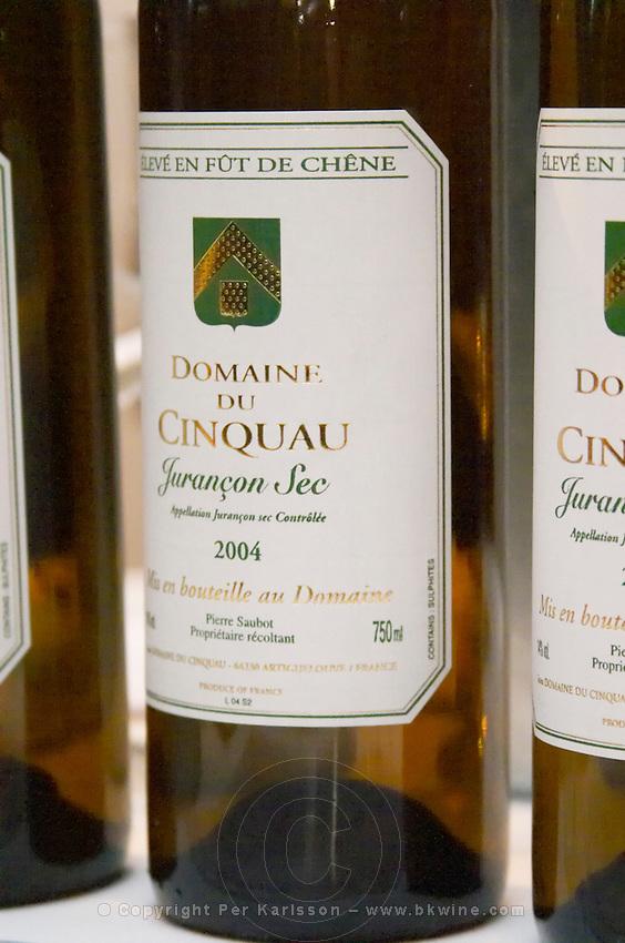 Domaine du Cinquau Jurancon Sec, France