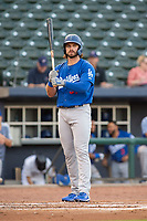 Tulsa Drillers outfielder D.J. Peters (31) steps to the plate on May 13, 2019, at Arvest Ballpark in Springdale, Arkansas. (Jason Ivester/Four Seam Images)