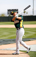 Yung-Chi Chen - Oakland Athletics - 2009 spring training.Photo by:  Bill Mitchell/Four Seam Images