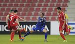 DPR Korea vs Thailand during the AFC U23 Championship 2016 Group B match on January 19, 2016 at the Grand Hamad Stadium in Doha, Qatar. Photo by Karim Jaafar / Lagardère Sports