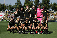 FC Gold Pride Starting Eleven. Washington Freedom defeated FC Gold Pride 4-3 at Buck Shaw Stadium in Santa Clara, California on April 26, 2009.