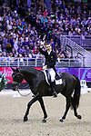 OMAHA, NEBRASKA -APR 1: Edward Gal waves to the crowd after his ride during the FEI World Cup Dressage Final II at the CenturyLink Center on April 1, 2017 in Omaha, Nebraska. (Photo by Taylor Pence/Eclipse Sportswire/Getty Images)