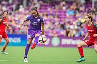Orlando, FL - Saturday September 23, 2017: Marta Vieira Da Silva during a regular season National Women's Soccer League (NWSL) match between the Orlando Pride and the Portland Thorns FC at Orlando City Stadium.