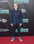 Ed Oxenbould attends The Disney World Premiere of Alexander and the Terrible,Horrible,No Good, Very Bad held at The El Capitan  in Hollywood, California on October 06,2014                                                                               © 2014 Hollywood Press Agency