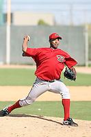 Jose Marte, Arizona Diamondbacks 2010 minor league spring training..Photo by:  Bill Mitchell/Four Seam Images.