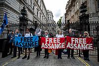 """19.05.2017 - """"Free Julian Assange"""" Demo After Sweden Drops Rape Investigation"""