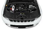 Car Stock 2021 JEEP Grand-Cherokee-L Limited 5 Door SUV Engine  high angle detail view