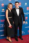 Albert Rivera and his girlfriend Beatriz Tajuelo attends to the photocall of the Gala Sida at Palacio de Cibeles in Madrid. November 21, 2016. (ALTERPHOTOS/Borja B.Hojas)