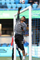 SAN JOSE, CA - MAY 12: Daniel Vega #17 of the San Jose Earthquakes before a game between Seattle Sounders FC and San Jose Earthquakes at PayPal Park on May 12, 2021 in San Jose, California.