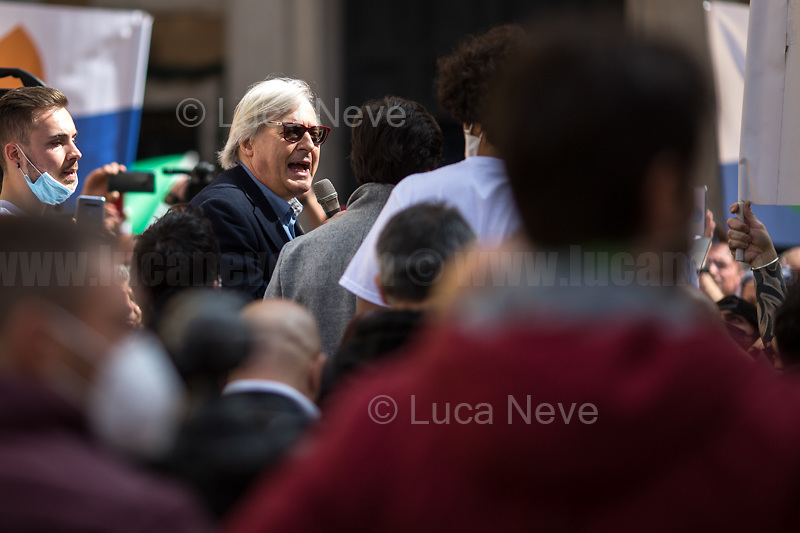 Vittorio Sgarbi MP.<br />