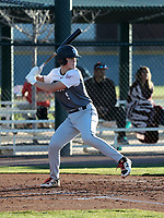 Kimble Schuessler takes part in the 2019 Under Armour Pre-Season All-America Tournament at the Chicago Cubs and Oakland Athletics training complexes on January 19-20, 2019 in Mesa, Arizona (Bill Mitchell)