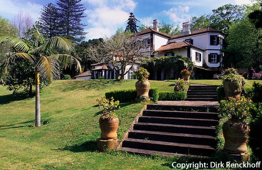 Blandys Quinta im Palheiro Garten (Blandys Garden) bei Funchal, Madeira, Portugal