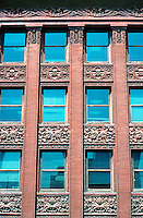 Louis Sullivan: Wainwright Bldg., St. Louis. Detail.  Photo '88.