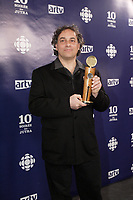 Montreal (Qc) Canada - March 9, 2008 -<br /> Claude Cloutier (ONF-NFB), JUTRA-Best animation movie for <br /> ISABELLE AU BOIS DORMANT<br /> <br /> at the 10th Jutras Gala held in Montreal.<br /> <br /> photo :(c)  Images Distribution
