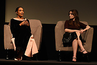 """NEW YORK CITY - OCTOBER 5: Rosario Dawson and Kaitlin Dever attend a SAG Screening of Hulu's """"DOPESICK"""" at the Museum of Modern Art on October 5, 2021 in New York City. . (Photo by Frank Micelotta/Hulu/PictureGroup)"""