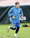 Spain's Iker Casillas during preparing training stage to Euro 2016. May 30,2016.(ALTERPHOTOS/Acero)
