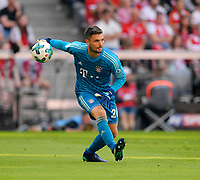 12.05.2018, Football 1. Bundesliga 2017/2018, 34.  match day, FC Bayern Muenchen - VfB Stuttgart, in Allianz-Arena Muenchen. goalkeeper Sven Ulreich (FC Bayern Muenchen)  *** Local Caption *** © pixathlon<br /> <br /> +++ NED + SUI out !!! +++<br /> Contact: +49-40-22 63 02 60 , info@pixathlon.de