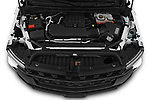 Car Stock 2021 Chevrolet Silverado-1500 WT 2 Door Pick-up Engine  high angle detail view
