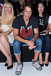 01.09.2012. Celebrities attending the David Delfin fashion show during the Mercedes-Benz Fashion Week Madrid Spring/Summer 2013 at Ifema. In the image Topacio Fresh and Martin Rivas (Alterphotos/Marta Gonzalez)