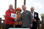 Prince Charles visit to Ffos Las Racecourse, West Wales. He attended the Prince's Charities in Wales Race Day for the first time.