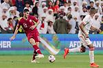 Karim Boudiaf of Qatar in action during the AFC Asian Cup UAE 2019 Semi Finals match between Qatar (QAT) and United Arab Emirates (UAE) at Mohammed Bin Zaied Stadium  on 29 January 2019 in Abu Dhabi, United Arab Emirates. Photo by Marcio Rodrigo Machado / Power Sport Images