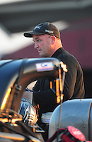 Jul, 9, 2011; Joliet, IL, USA: NHRA top fuel dragster driver Bob Vandergriff Jr during qualifying for the Route 66 Nationals at Route 66 Raceway. Mandatory Credit: Mark J. Rebilas-