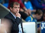 St Johnstone v FC Minsk...08.08.13 Europa League Qualifier<br /> FC Minsk boss Vadzim Skrypchanka<br /> Picture by Graeme Hart.<br /> Copyright Perthshire Picture Agency<br /> Tel: 01738 623350  Mobile: 07990 594431
