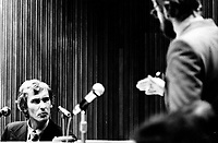 MONTREAL, CANADA - File Photo - <br /> <br /> CECO hearing, February 2nd, 1975.<br /> <br /> File Photo : Agence Quebec Presse - Alain Renaud