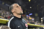 14.02.2020, Signal Iduna Park, Dortmund, GER, 1. BL, Borussia Dortmund vs Eintracht Frankfurt, DFL regulations prohibit any use of photographs as image sequences and/or quasi-video<br /> <br /> im Bild / picture shows / Timothy Chandler (#22, Eintracht Frankfurt) Portrait, Halbportrait, Bild, Einzel, Einzelaufnahme, picture, single, solo, alleine <br /> <br /> Foto © nordphoto/Mauelshagen