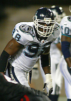 Marvin Thomas Toronto Argonauts 2003. Photo Scott Grant