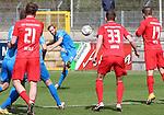Nico Hammann (Nr.22, FC Astoria Walldorf)beim Freistoss beim Spiel in der Regionalliga Suedwest, FC Astoria Walldorf - KSV Hessen Kassel.<br /> <br /> Foto © PIX-Sportfotos *** Foto ist honorarpflichtig! *** Auf Anfrage in hoeherer Qualitaet/Aufloesung. Belegexemplar erbeten. Veroeffentlichung ausschliesslich fuer journalistisch-publizistische Zwecke. For editorial use only. DFL regulations prohibit any use of photographs as image sequences and/or quasi-video. beim Spiel in der Regionalliga, FC Astoria Walldorf - KSV Hessen Kassel.<br /> <br /> Foto © PIX-Sportfotos *** Foto ist honorarpflichtig! *** Auf Anfrage in hoeherer Qualitaet/Aufloesung. Belegexemplar erbeten. Veroeffentlichung ausschliesslich fuer journalistisch-publizistische Zwecke. For editorial use only. DFL regulations prohibit any use of photographs as image sequences and/or quasi-video.