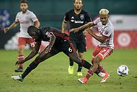 Washington, D.C. - August 23, 2017: D.C. United defeated Atlanta United FC 1-0 during a Major League Soccer (MLS) match at RFK Stadium.