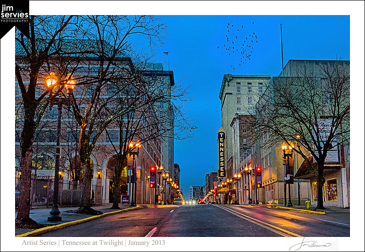 Tennessee at Twilight by Jim Servies Photography