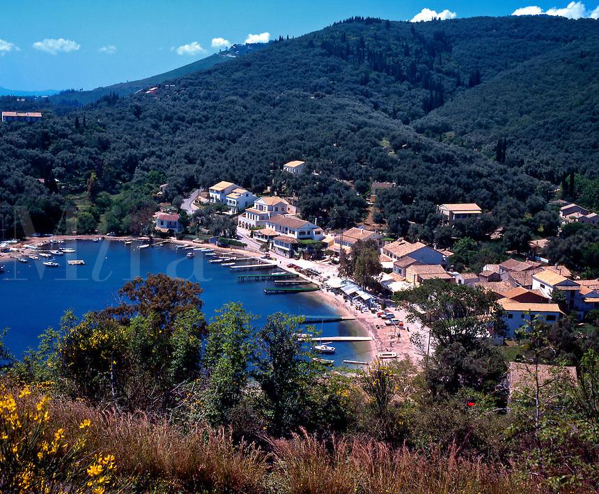 Greece. The Ionian Islands. Corfu. .Agios Stefanos. ( North East )