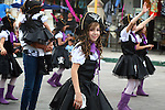 SCHOOL KIDS IN PIRATE COSTUMES MARCH IN CARNIVAL PARADE (1)