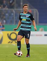 Niklas Stark      <br /> / Sport / Football / DFB Pokal 1.round 3. Bundesliga Bundesliga /  2018/2019 / 20.08.2018 / BTSV Eintracht Braunschweig vs. Hertha BSC Berlin / DFL regulations prohibit any use of photographs as image sequences and/or quasi-video. /<br />       <br />    <br />  *** Local Caption *** © pixathlon<br /> Contact: +49-40-22 63 02 60 , info@pixathlon.de
