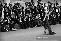VENICE, ITALY - AUGUST 28: Barbara Palvin walks the red carpet ahead of the opening ceremony during the 76th Venice Film Festival at Sala Casino on August 28, 2019 in Venice, Italy.