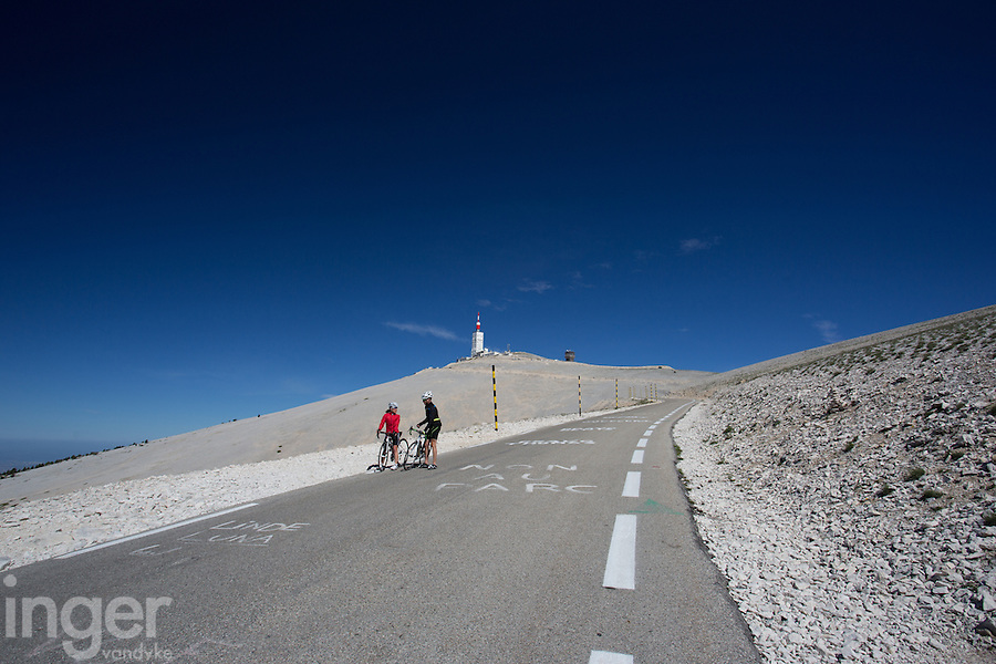 Mont Ventoux in Provence, France