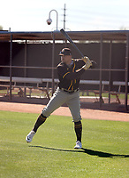 Brian O'Grady - San Diego Padres 2021 spring training (Bill Mitchell)