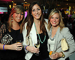 From left: Casey Wright, Hilary Sealy and Lauren Covey at the Simon Fashion Now event at the Houston Galleria Thursday April 14,2011.(Dave Rossman/For the Chronicle)