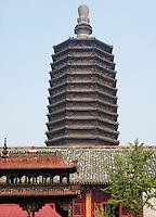 buddhistische Tianning Si-Pagode, Peking, China, Asien<br /> Buddhistic Tianning Si-Pagoda, Beijing, China, Asia