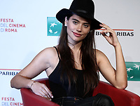 "L'attrice argentina Eva De Dominici posa durante il photocall per la presentazione del film ""White Blood"" al Festival Internazionale del Film di Roma, 19 ottobre 2018.<br /> Argentinian actrees Eva De Dominici poses during the photocall of the movie ""White Blood"" during the international Rome Film Festival at Rome's Auditorium, on October 19, 2018.<br /> UPDATE IMAGES PRESS/Isabella Bonotto"
