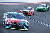 #18: Kyle Busch, Joe Gibbs Racing, Toyota Camry M&M's Hazelnut