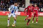 CD Leganes' Oscar Rodriguez during La Liga match between CD Leganes and Getafe CF at Butarque Stadium in Leganes, Spain. December 07, 2018. (ALTERPHOTOS/A. Perez Meca)