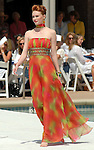 A model walks the runway at the River Oaks Tennis Luncheon Wednesday April 08,2009.(Dave Rossman/For the Chronicle)