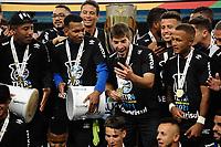 PORTO ALEGRE, RS, 23.05.2021 - GREMIO - INTERNACIONAL - O jgador Lucas Silva, da equipe do Grêmio, na partida entre Grêmio e Internacional, pela final do Campeonato Gaúcho 2021, no estádio Arena do Grêmio, em Porto Alegre, neste domingo (23).