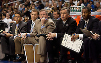 Cal Coaching Staff. The California Golden Bears defeated the UCLA Bruins 85-72 during the semifinals of the Pacific Life Pac-10 Conference Tournament at Staples Center in Los Angeles, California on March 12th, 2010.