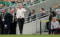 Dublin, Ireland - Saturday June 02, 2018: Dave Sarachan during an international friendly match between the men's national teams of the United States (USA) and Republic of Ireland (IRE) at Aviva Stadium.