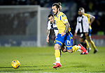 St Mirren v St Johnstone…..04.03.20   Simple Digital Arena   SPFL<br />Stevie May gets away from Ross Wallace<br />Picture by Graeme Hart.<br />Copyright Perthshire Picture Agency<br />Tel: 01738 623350  Mobile: 07990 594431